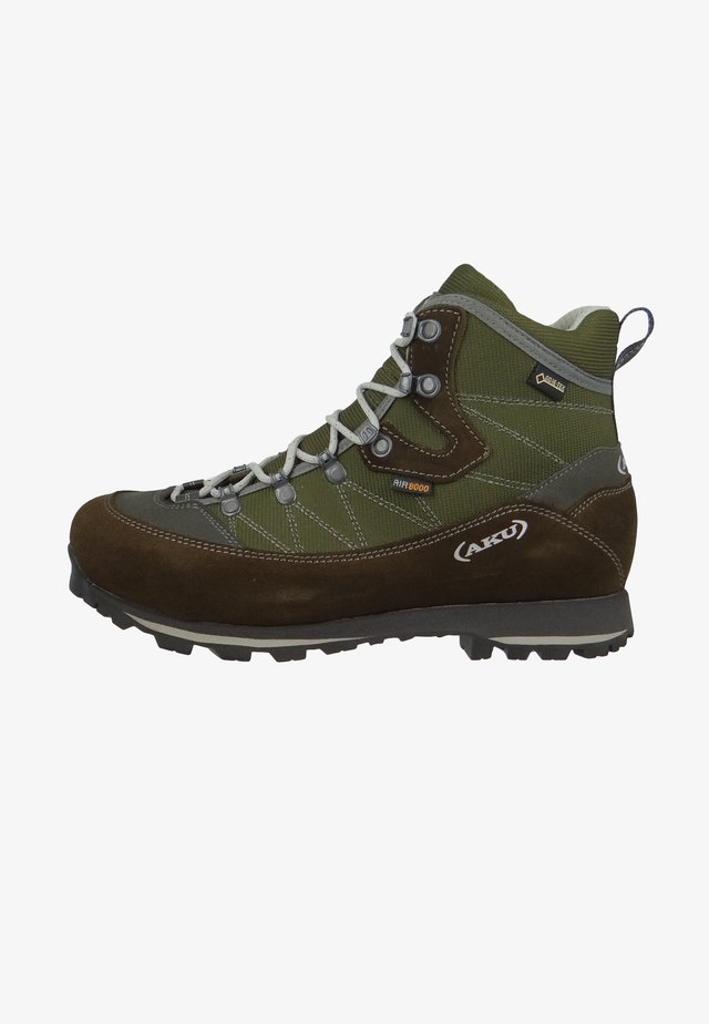 TREKKER LITE  - Hiking shoes - olive/light grey