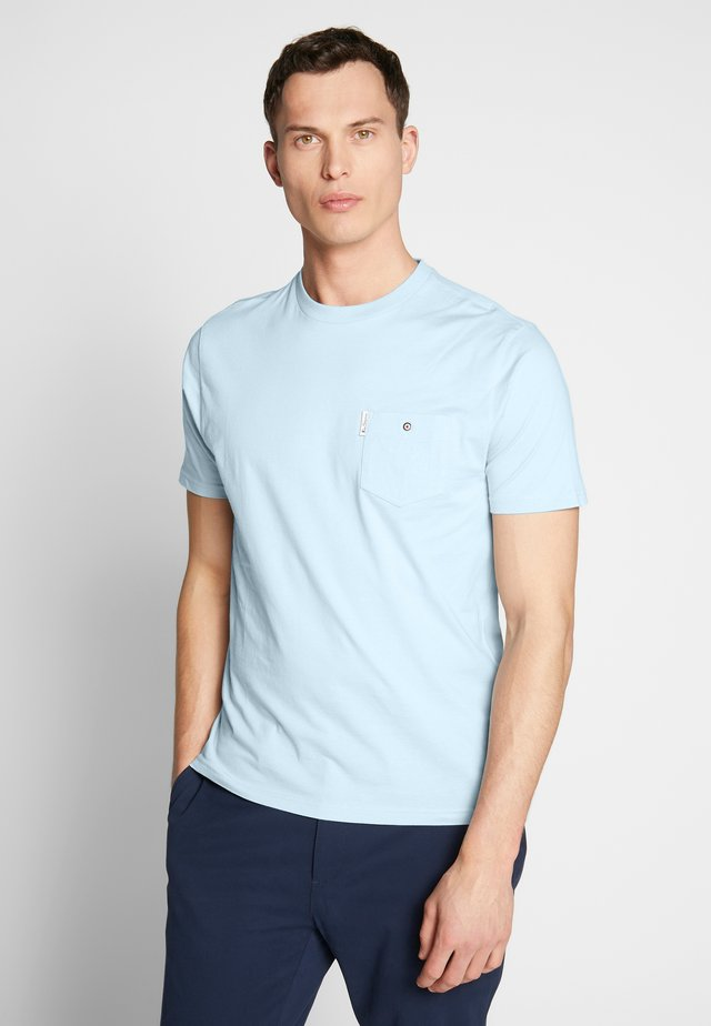 SIGNATURE TEE - T-shirt basic - sky
