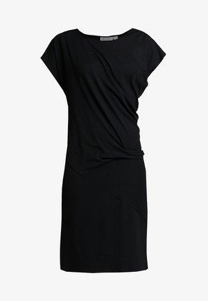 OCEAN DRESS - Sukienka z dżerseju - black