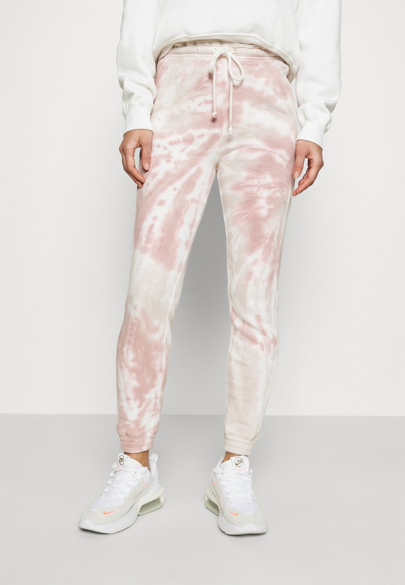 Abercrombie & Fitch - Tracksuit bottoms - tie dye