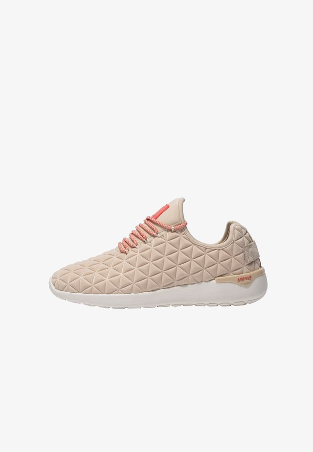 Sneakers laag - tan coral