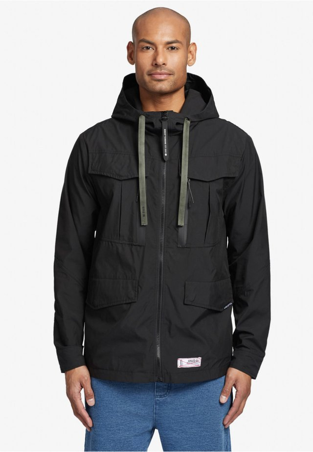 STEVE - Outdoorjas - black