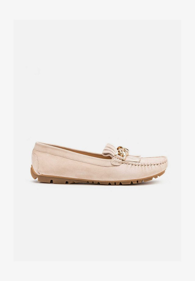 NORMA - Loaferit/pistokkaat - beige