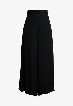 ELENOR TROUSER - Kalhoty - black