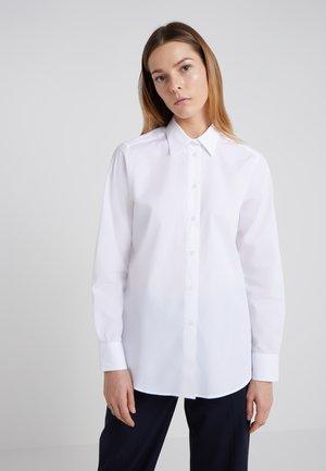 JANE  - Button-down blouse - white