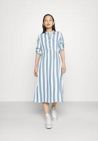 Lee - WORKER DRESS - Shirt dress - dawn blue - 1