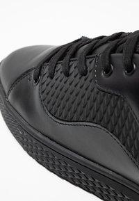 Ed Hardy - SCALE TOP - Sneakers - black - 5
