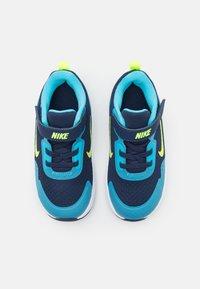 Nike Sportswear - WEARALLDAY UNISEX - Matalavartiset tennarit - midnight navy/volt/baltic blue/white - 3