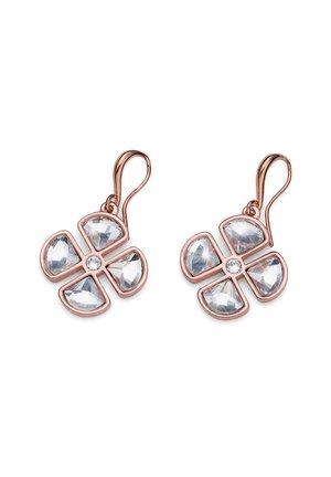 QUATRE - Earrings - rosegold