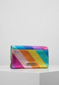 Kurt Geiger London - STRIPE CHAIN WALLET - Across body bag - multi-coloured - 2