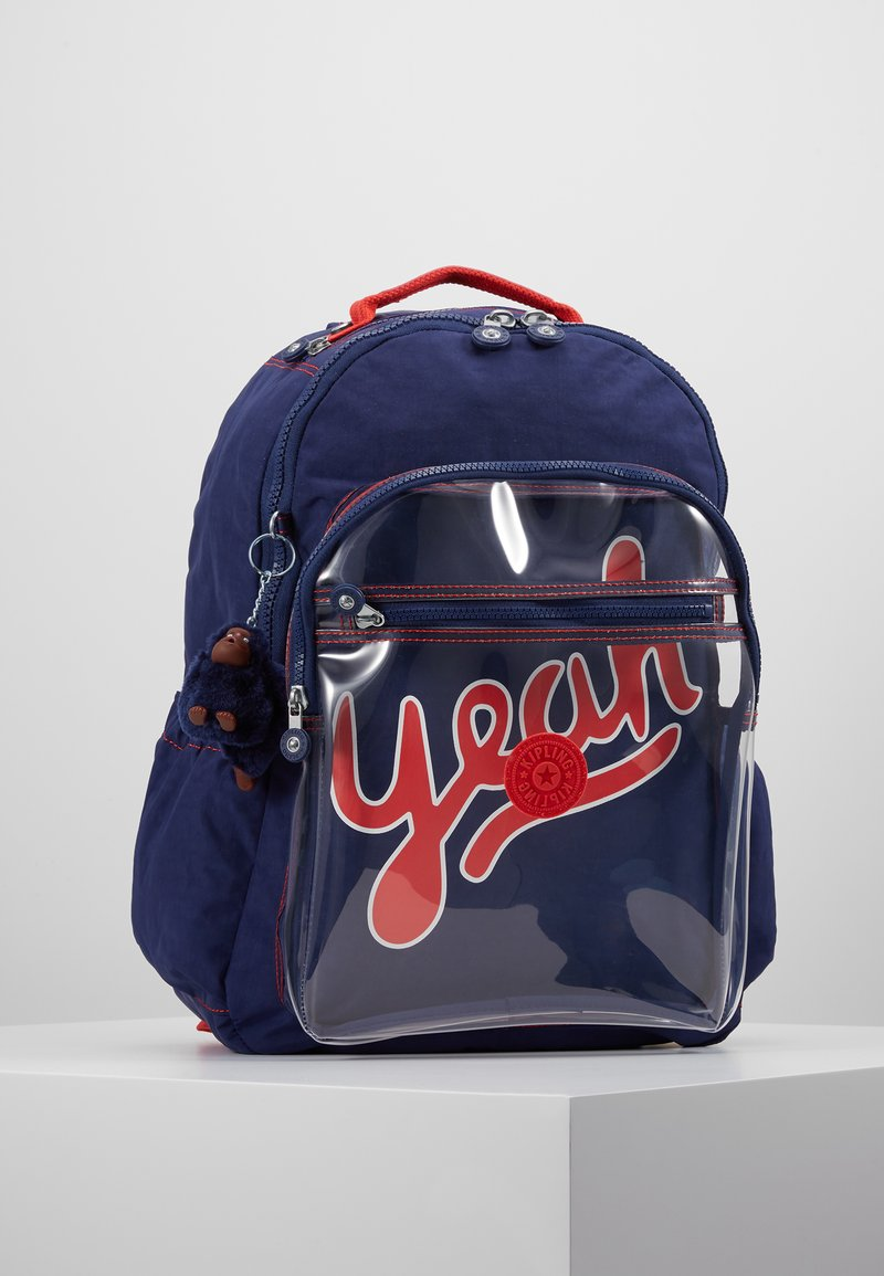 Kipling - SEOUL GO - School bag - polish blu/transparent