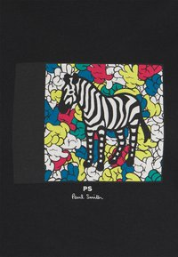 PS Paul Smith - MENS ZEBRA HANDS - Print T-shirt - black - 5