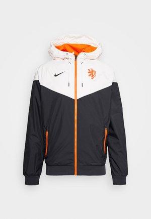 NIEDERLANDE KNVB - Oblečení národního týmu - black/sail