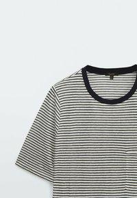 Massimo Dutti - Print T-shirt - white - 3