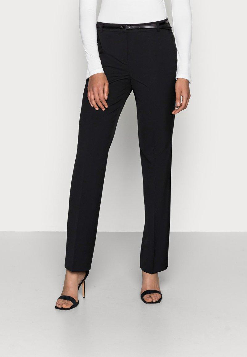 Esprit Collection - NEWPORT - Trousers - black