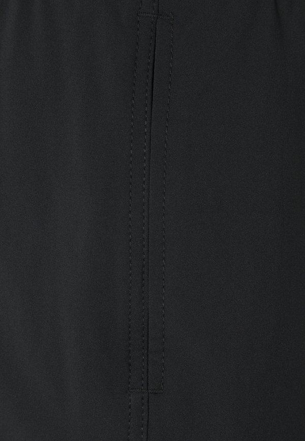 Abercrombie & Fitch INCH BLACK LOGO - Szorty kąpielowe - black/czarny Odzież Męska ZETL