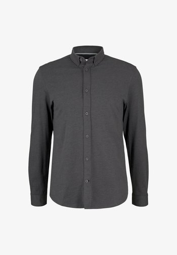 Shirt - mid grey melange