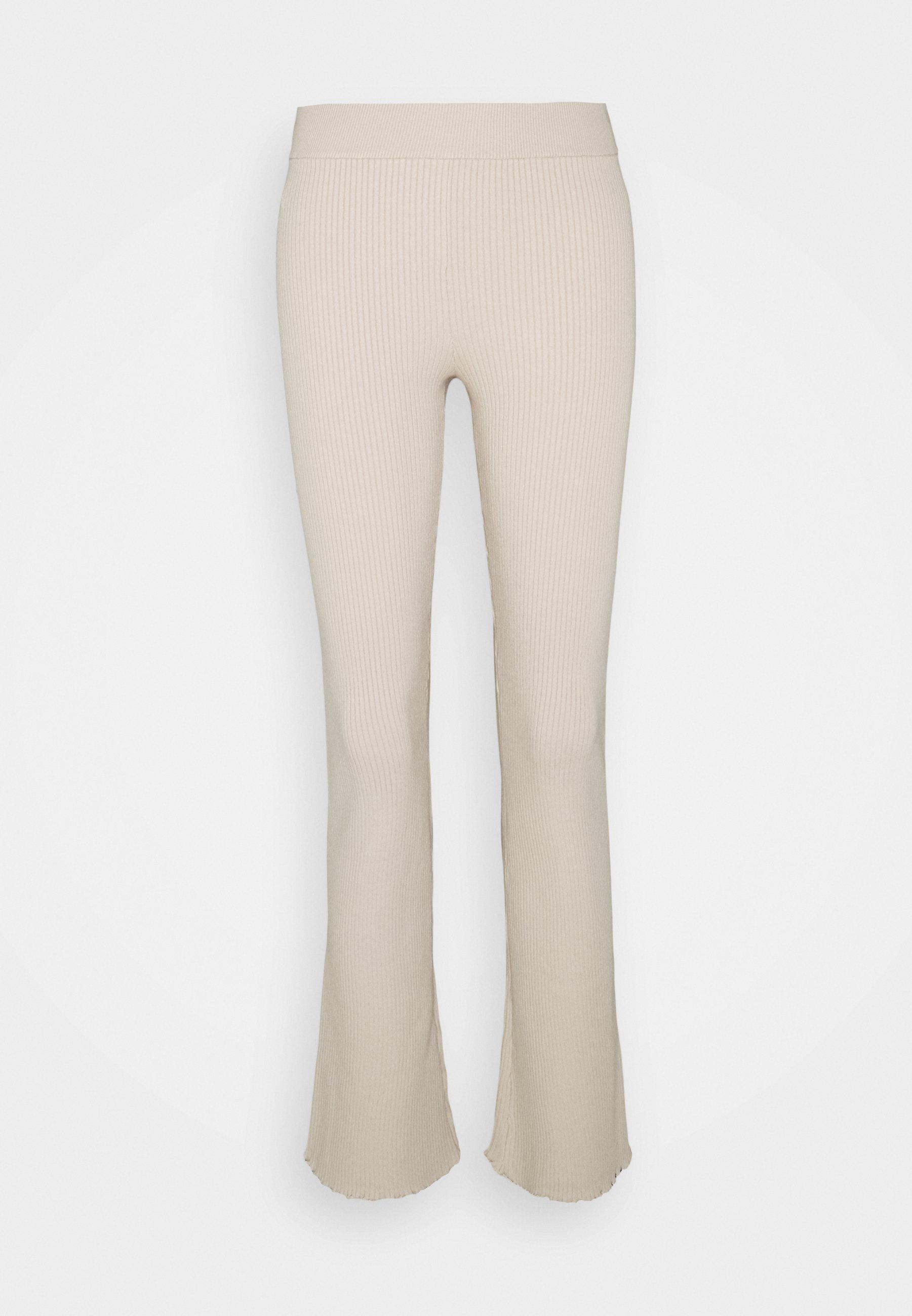 Women LETTUCE EDGE BABY FLARE - Trousers