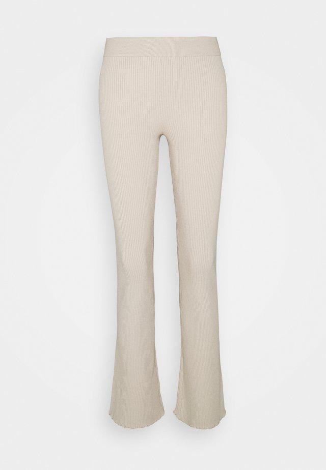 LETTUCE EDGE BABY FLARE - Trousers - peyote