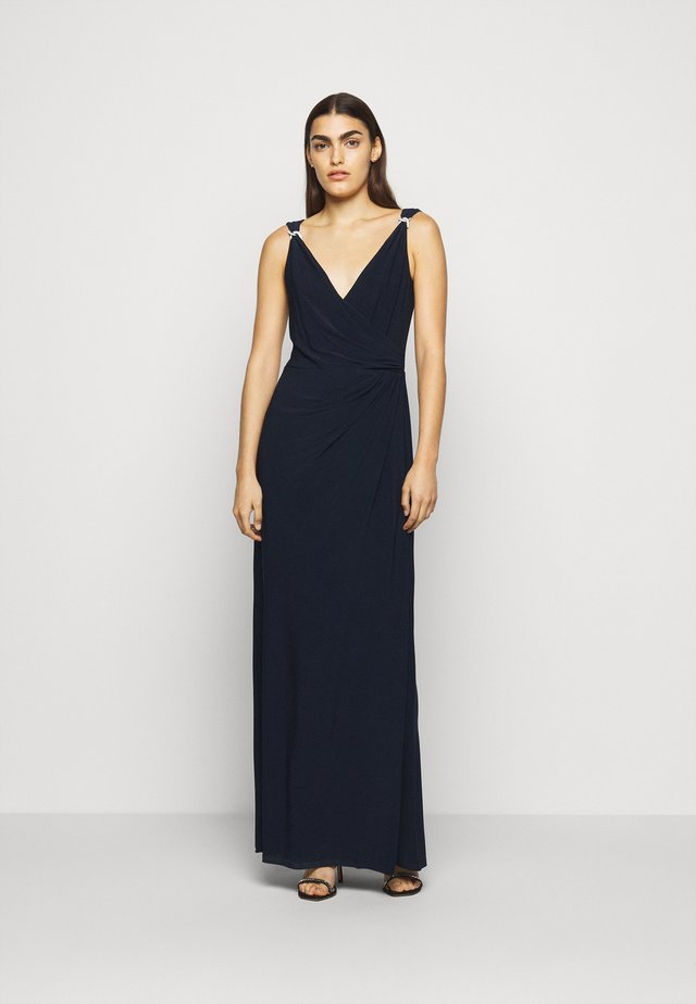 CLASSIC LONG GOWN   - Robe de cocktail - lighthouse navy