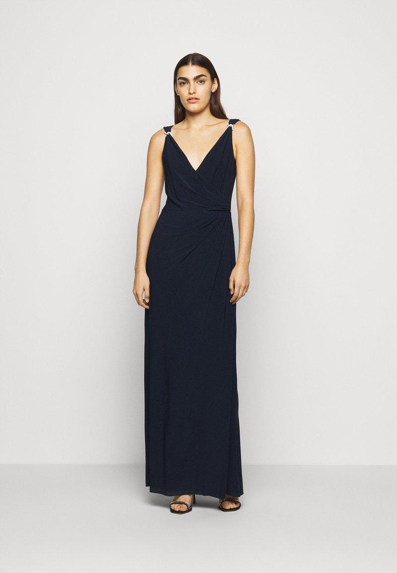 Lauren Ralph Lauren - CLASSIC LONG GOWN   - Occasion wear - lighthouse navy