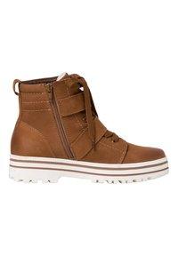 Jana - Lace-up ankle boots - cognac - 2