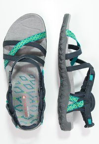 Merrell - TERRAN LATTICE II - Walking sandals - navy - 1