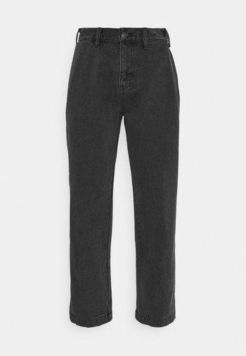 HARD WORK CARPENTER - Straight leg -farkut - dusty black
