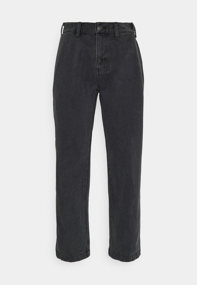 HARD WORK CARPENTER - Jeans straight leg - dusty black