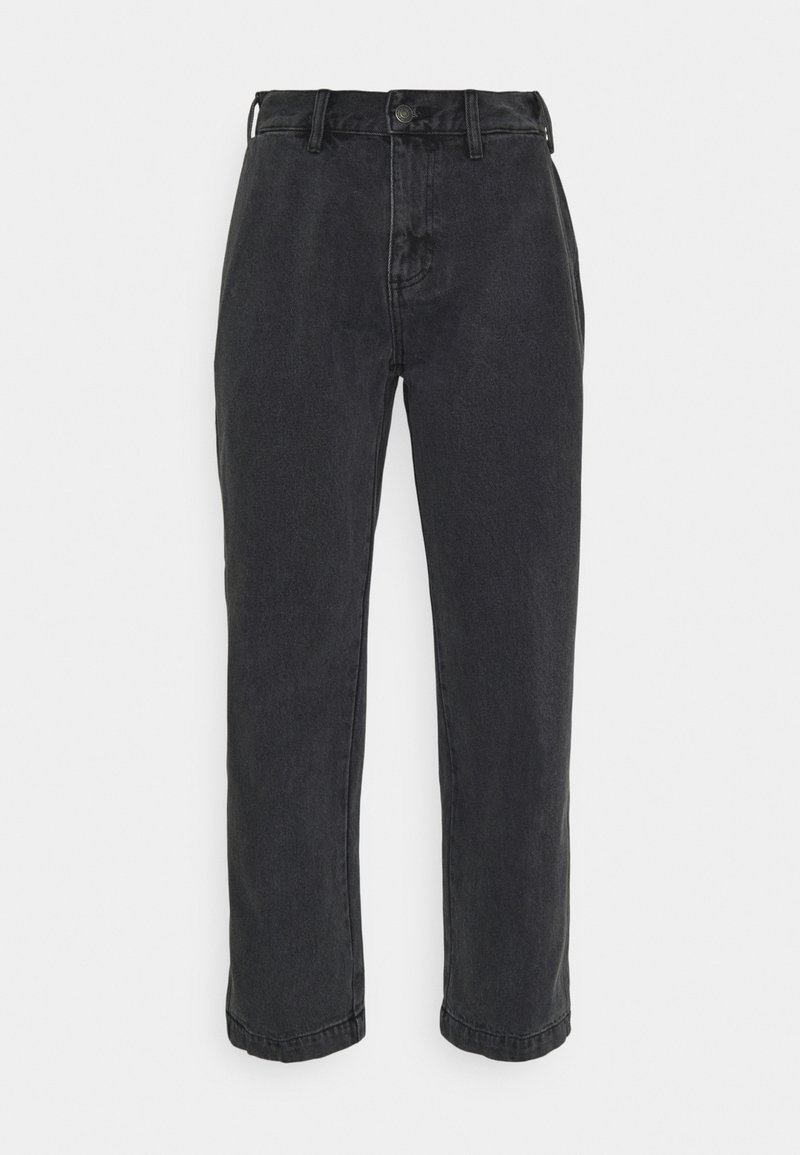 Obey Clothing - HARD WORK CARPENTER - Vaqueros rectos - dusty black