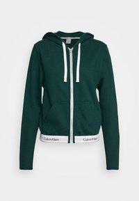 Calvin Klein Underwear - MODERN LOUNGE FULL ZIP HOODIE - Mikina na zip - camp - 3