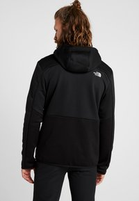 The North Face - MERAK HOODY - Fleecetakki - black - 2