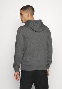 Lacoste Sport - CLASSIC HOODIE - Bluza z kapturem - pitch chine/graphite sombre - 2