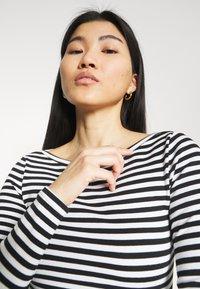 Zign - Long sleeved top - black/white - 3