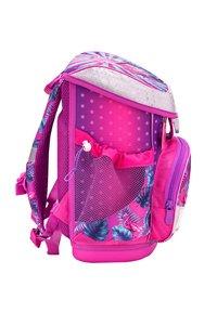 Belmil - SET - School bag - neon pink - 4