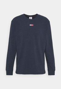 Tommy Jeans - TINY SCRIPT TEE - Maglietta a manica lunga - twilight navy - 5
