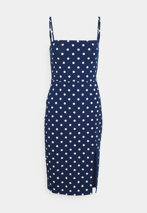 Žerzejové šaty - blue/white