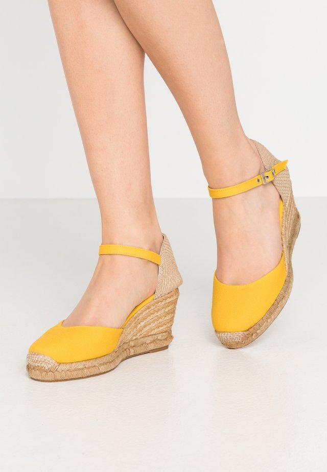 Loafers - jaune