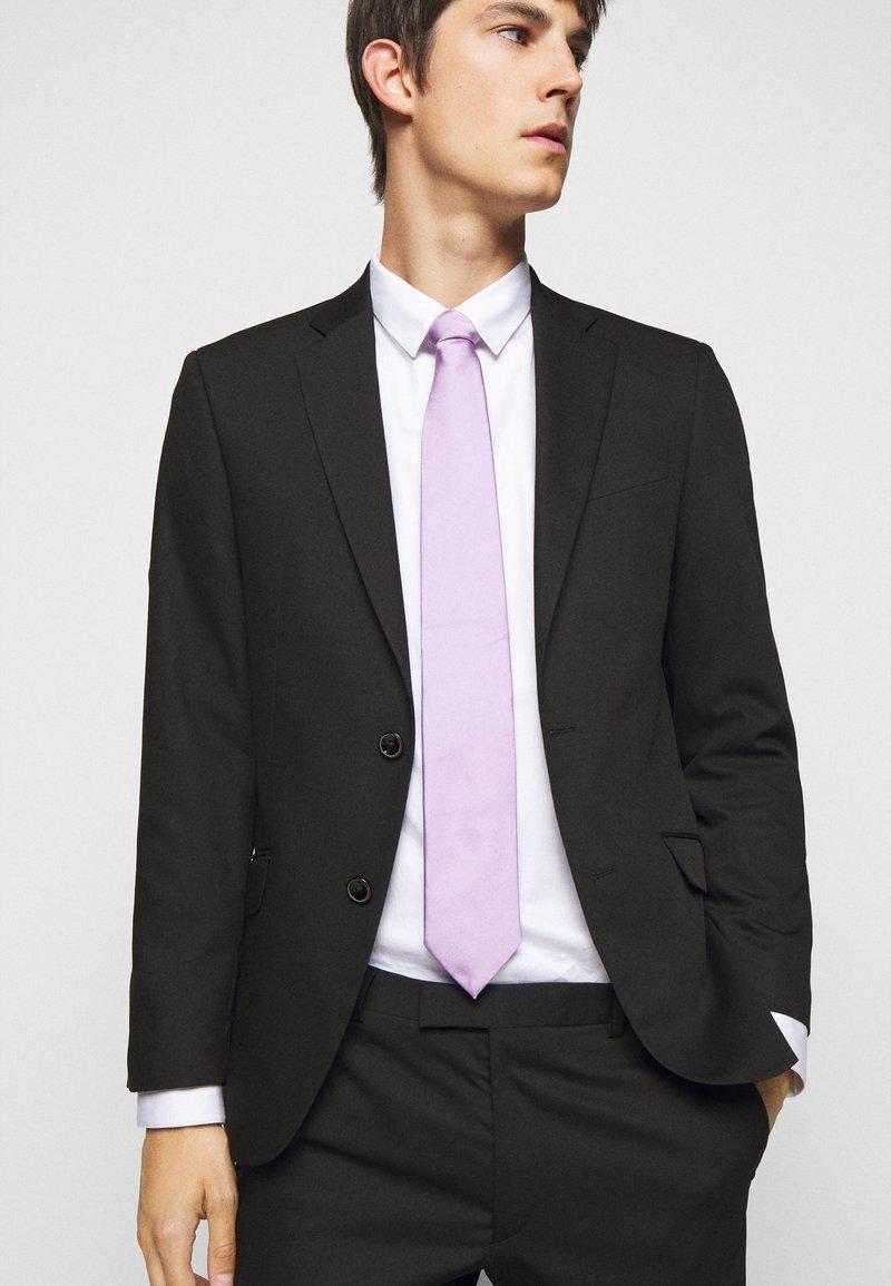 HUGO - TIE - Tie - light pastel purple