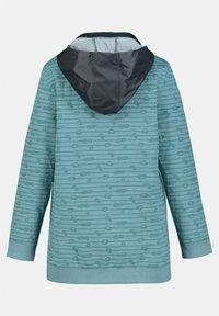 Ulla Popken - GRANDES TAILLES - Zip-up sweatshirt - bleu - 2