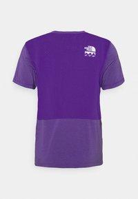 The North Face - GLACIER TEE - Triko spotiskem - mottled purple - 6