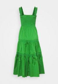 Tory Burch - SMOCKED RUFFLE DRESS - Day dress - resort green - 7