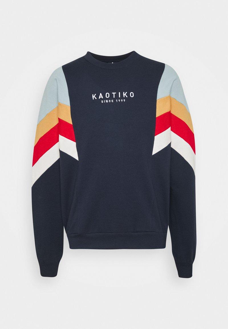 Kaotiko - CREW SEATTLE UNISEX - Sweatshirt - dark blue