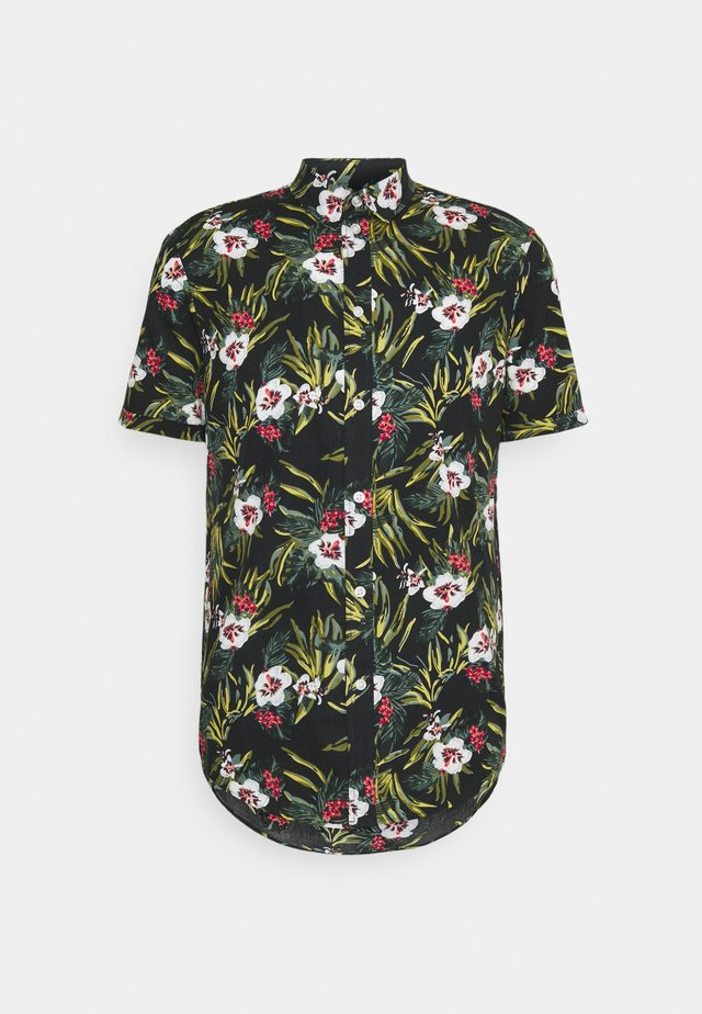 Shirt - multi-coloured/black