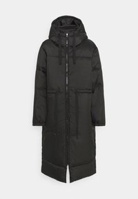 Weekday - ALLY LONG PUFFER - Winter coat - black - 5