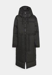 ALLY LONG PUFFER - Zimní kabát - black