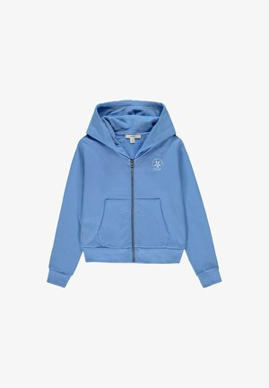 FASHION - Zip-up hoodie - light blue lavender