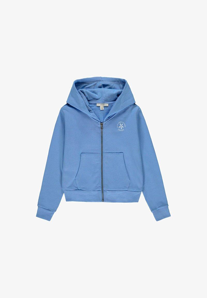 Esprit - FASHION - Zip-up hoodie - light blue lavender