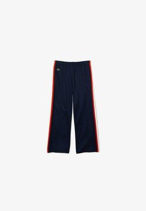 Tracksuit bottoms - bleu marine/blanc/orange