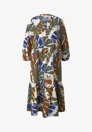 Vestito estivo - multicolor botanical design